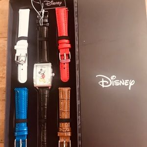 Authentic Mickey Mouse Watch With Interchangeable
